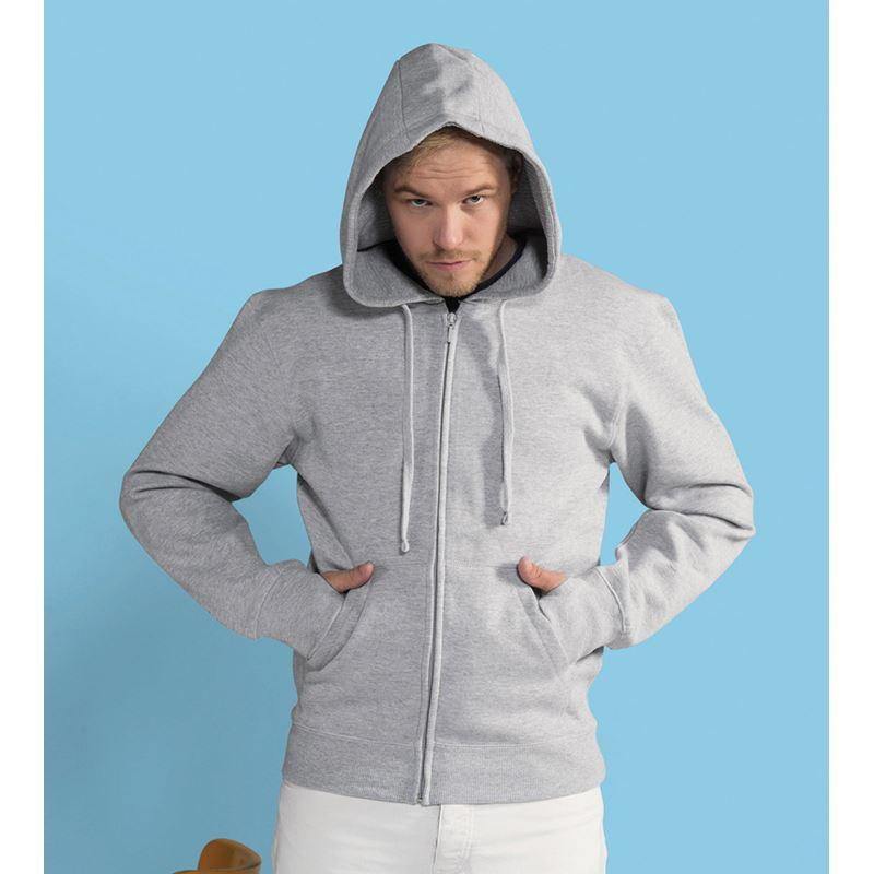 Picture of Mens Full Zip Urban Hoodie