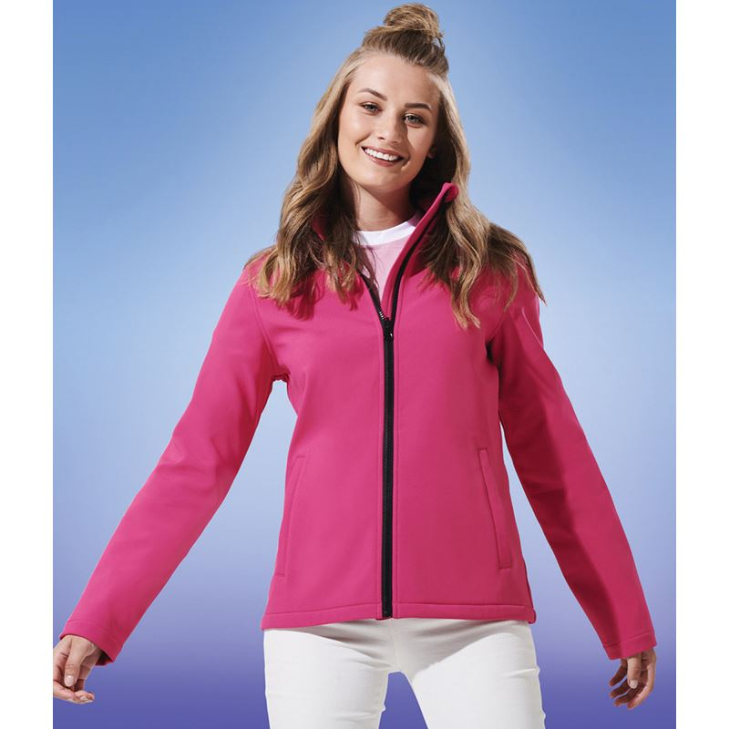 Picture of Womens Ablaze Softshell Jacket