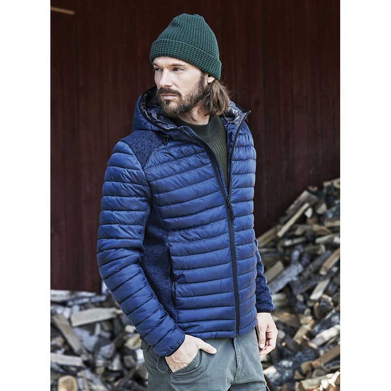 Picture of Mens hooded outdoor jacket