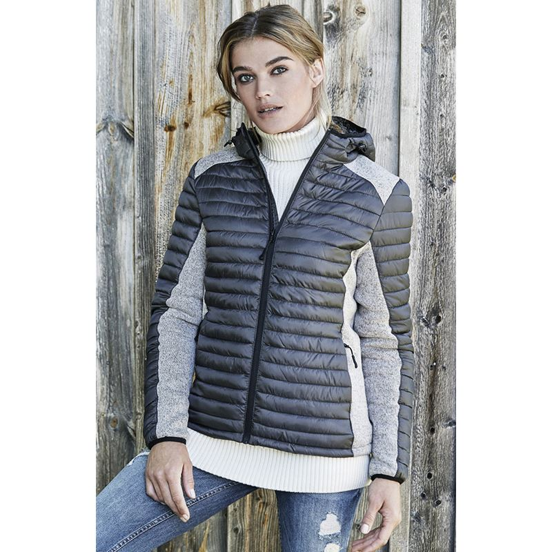 Picture of Ladies Hooded Outdoor Jacket