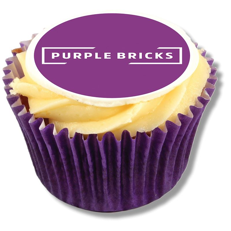 Picture of Logo Frosted Cupcake