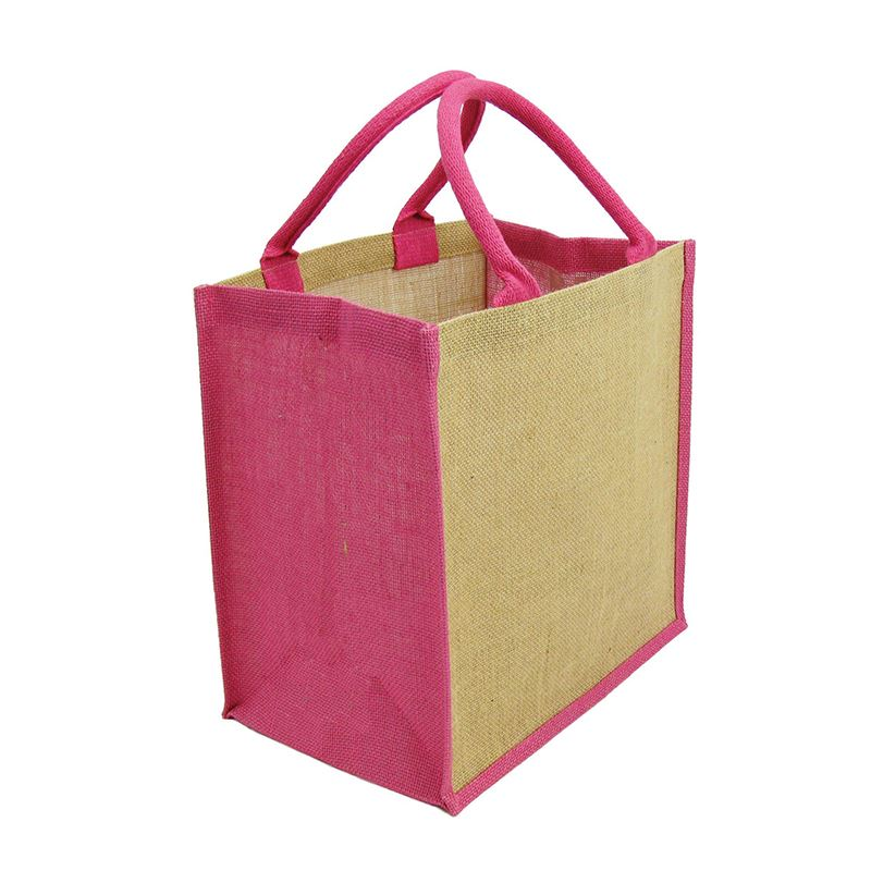 Picture of Green & Good Brighton Natural/ Coloured Jute Bag