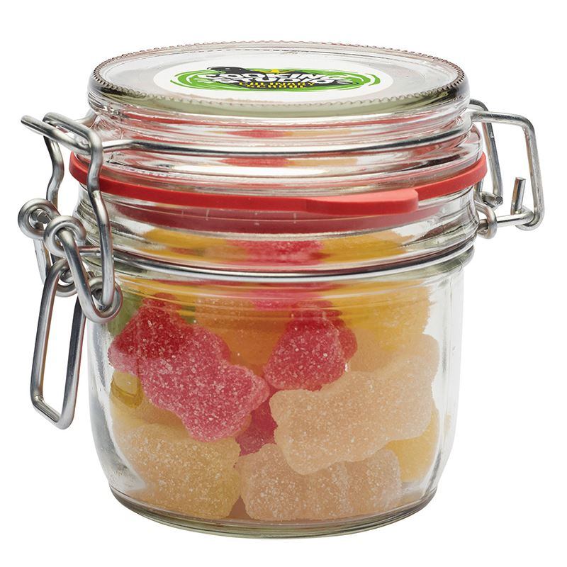 Picture of Glass jar of sweets (125ml)