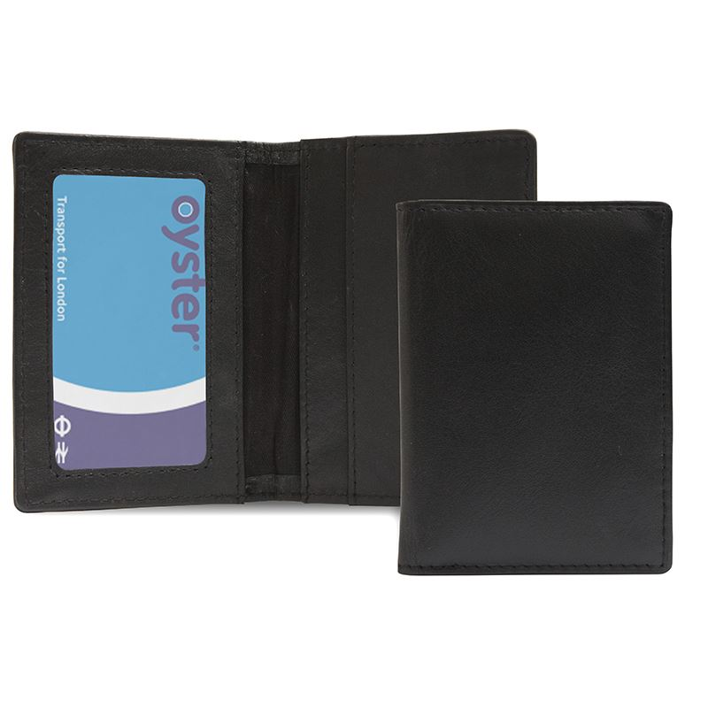 Picture of Leather Credit Card Case RFID Protection