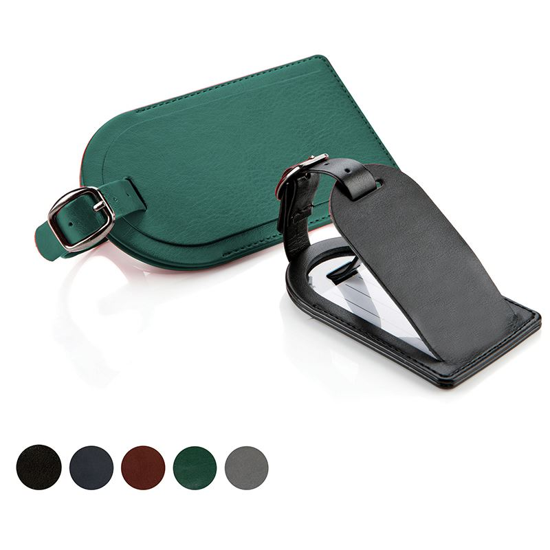 Picture of Belluno Leatherette Luggage Tag
