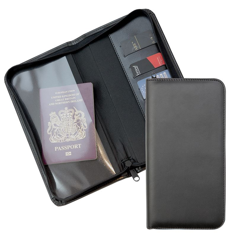 Picture of Zipped Travel Wallet