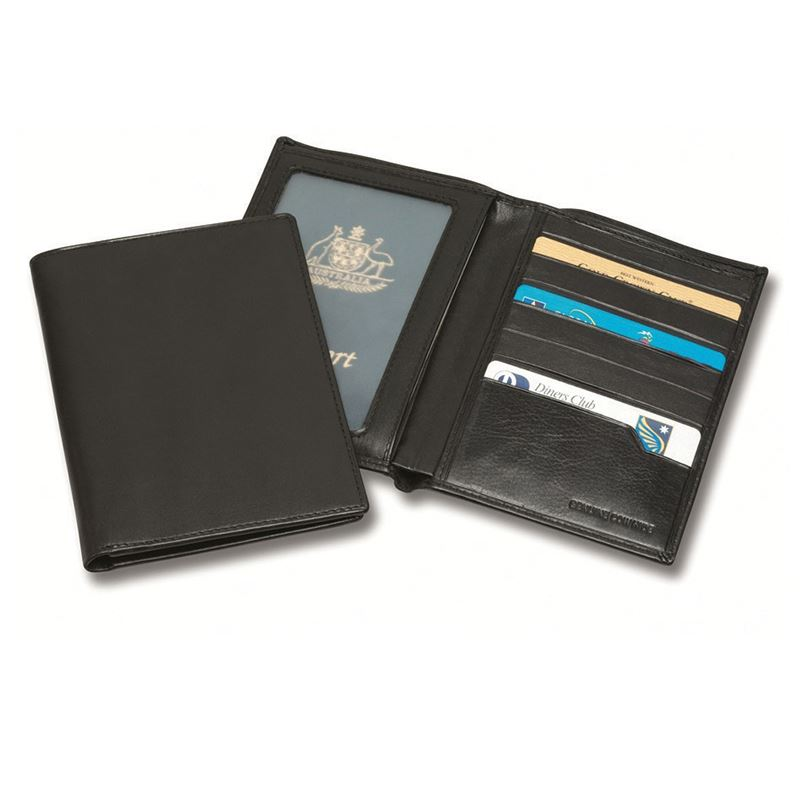Picture of Sandringham Nappa Leather RFID Passport Wallet