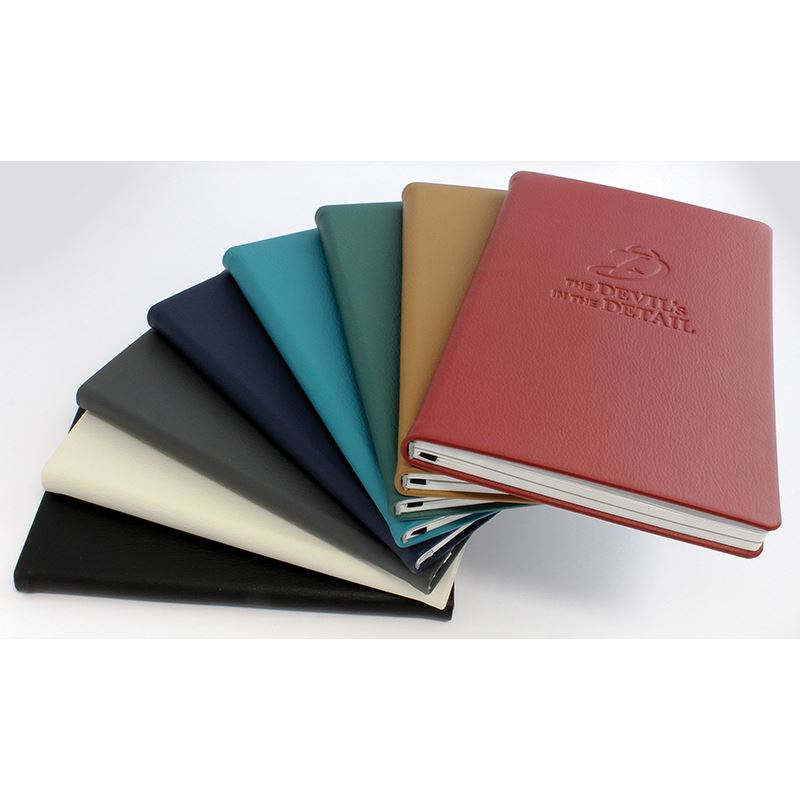 Picture of Recycled ELeather Notebook Sustainably Sourced Paper