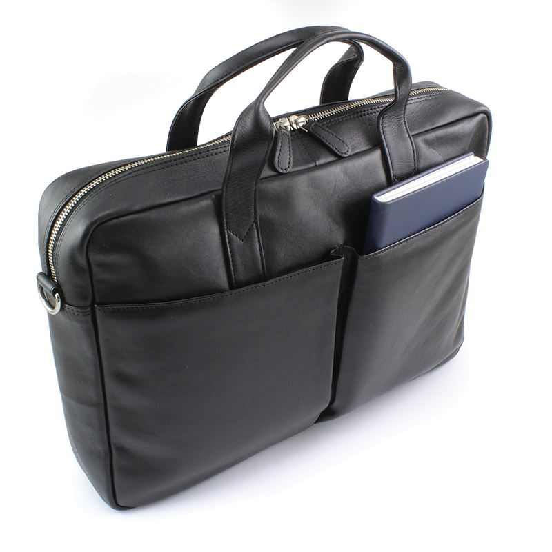 Picture of Sandringham Nappa Leather Commuter Laptop Bag