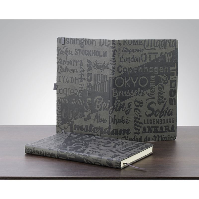 Picture of Infusion A5 full Embossed Cover Notebook