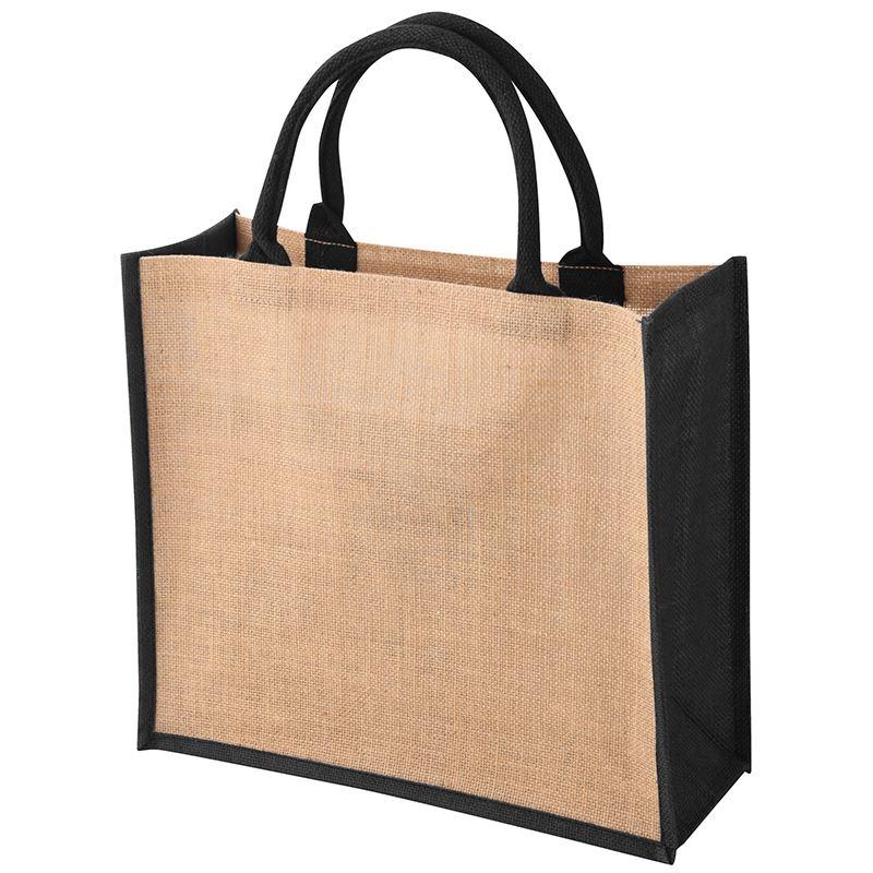 Picture of Tembo Coloured Trim Jute Bag