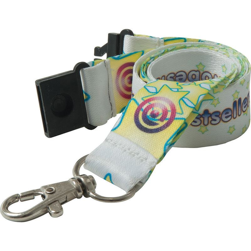 Picture of 20mm Dye Sublimation Recycled PET Lanyard