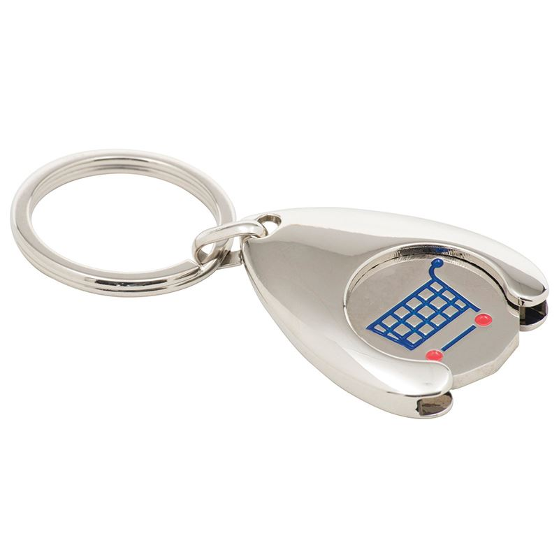 Picture of Wishbone Trolley Coin Keyring