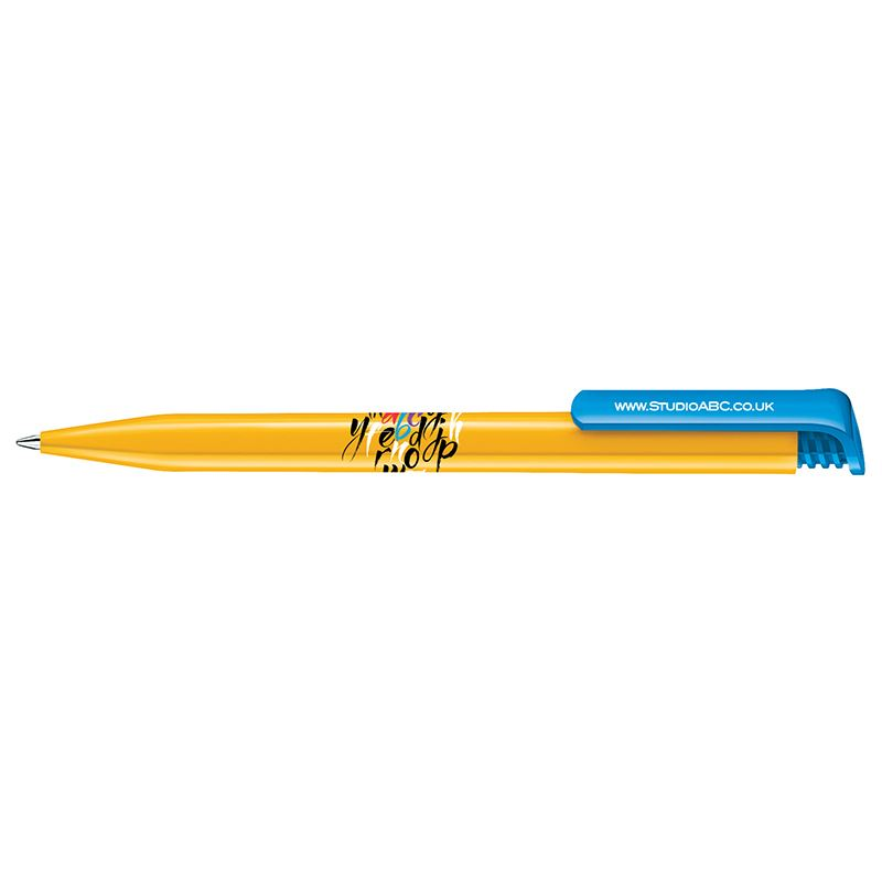 Picture of Senator Super Hit Mix & Match plastic ball pen (polished)