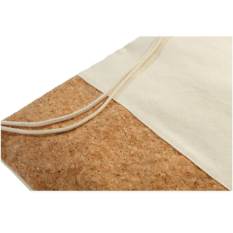 Picture of Woods cotton and cork bottom drawstring backpa
