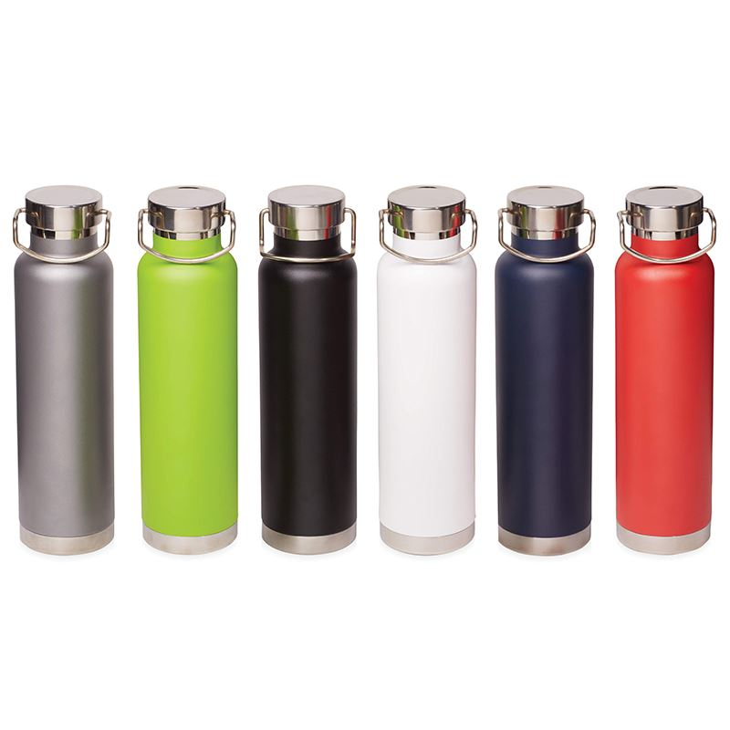Picture of Thor 650 ml copper vacuum insulated sport bottle