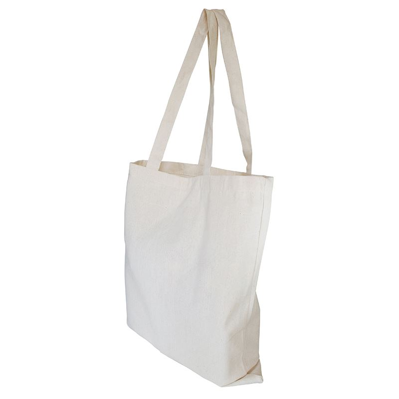 Picture of 10oz Canvas Shopper with 3 sided Gusset