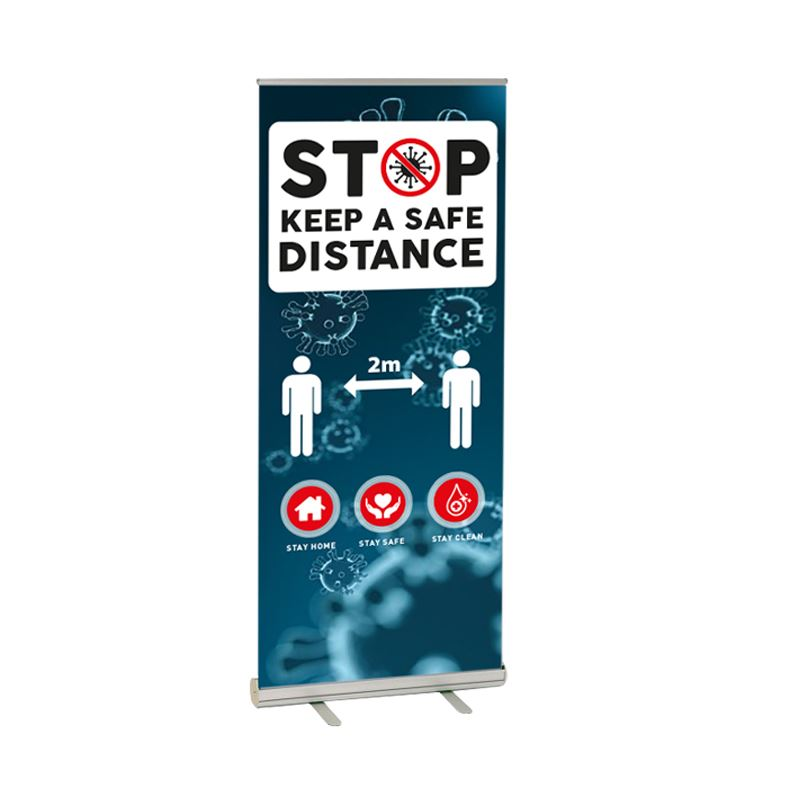 Picture of COVID-19 Awareness Pull Up Banners
