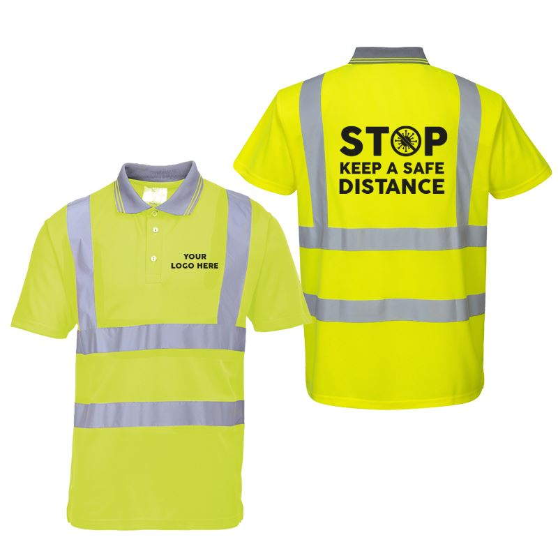Picture of Hi Visibility Safety / Awareness Polo-shirt
