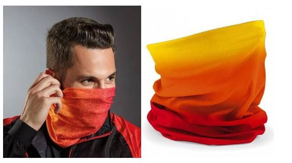 Picture of Snood/Bandana Face Protection Printed Full Colour/Coverage