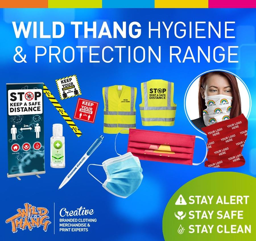 Wild Thang Hygiene and Protection Range Stay Alert, Stay Safe, Stay Clean!
