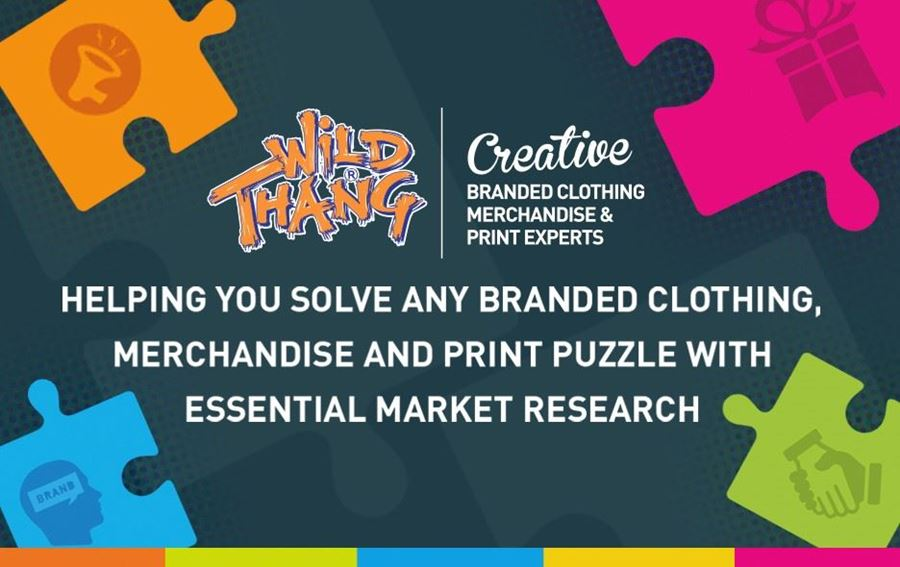Wild Thang helping you solve any branded clothing, merchandise & print puzzle with essential Market research !