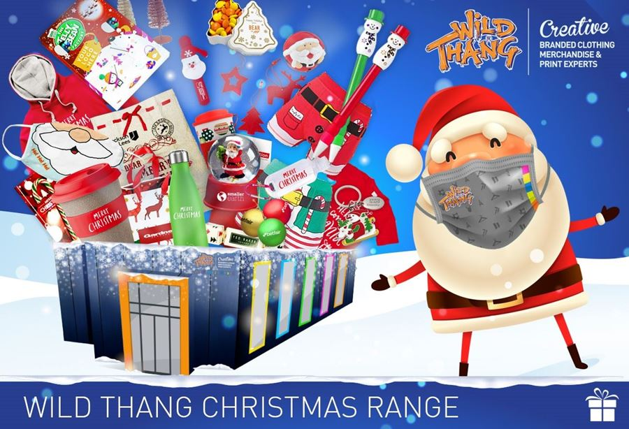 Wild Thang have a vast array of Christmas themed corporate gifts and festive giveaways