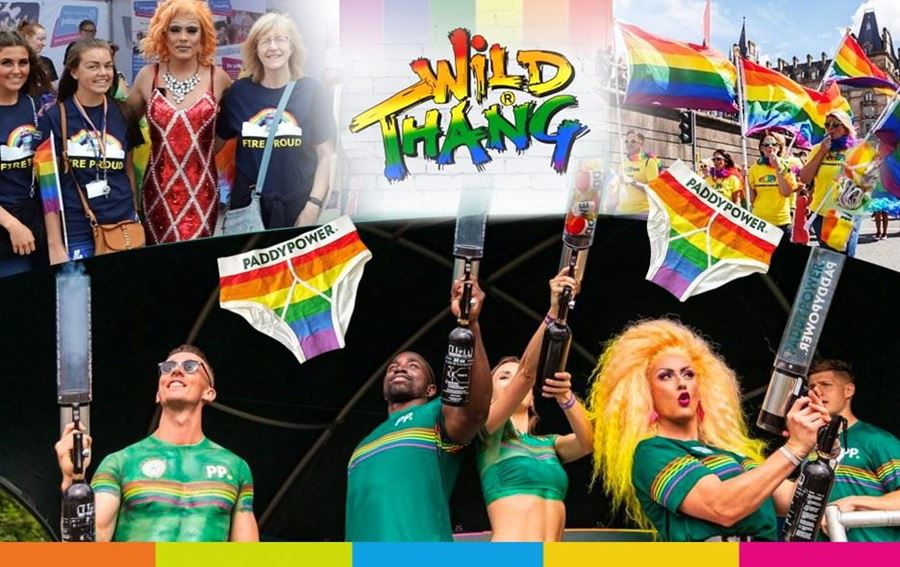 Turning our Wild Thang brand rainbow to celebrate pride month!