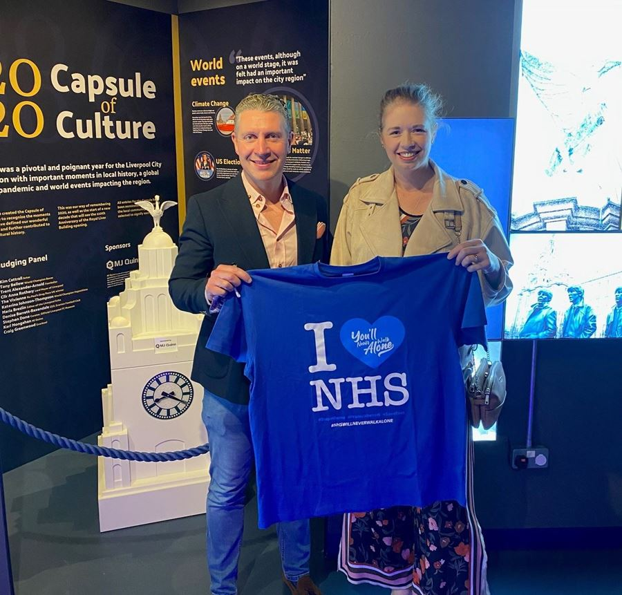 Wild Thang NHS T-shirt Included in Culture Capsule!